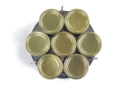 Булат мини. 7 банок консервов за 1 раз