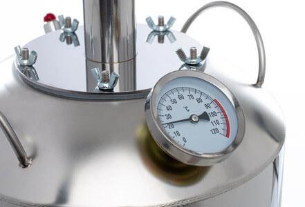 Биметаллический термометр на баке Finlandia Плюс NEW