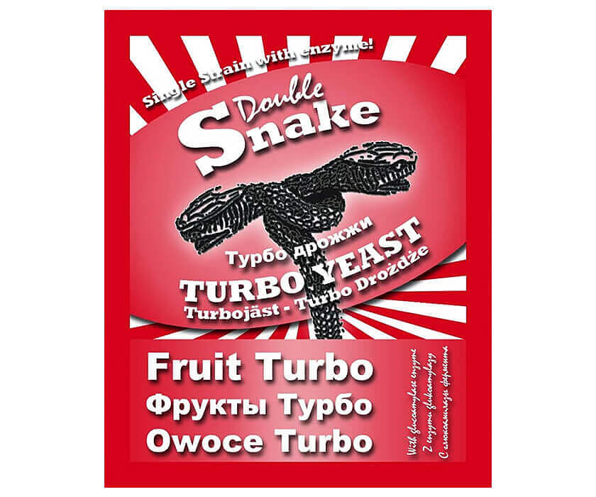 Турбо дрожжи DoubleSnake Fruit Turbo